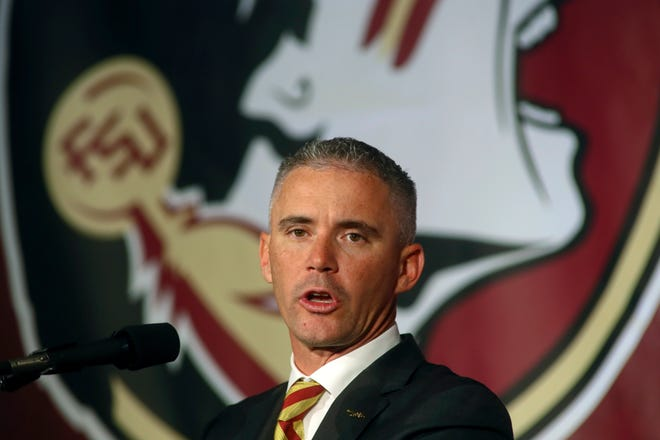 Florida State head football coach Mike Norvell tested positive for COVID-19 on Saturday.