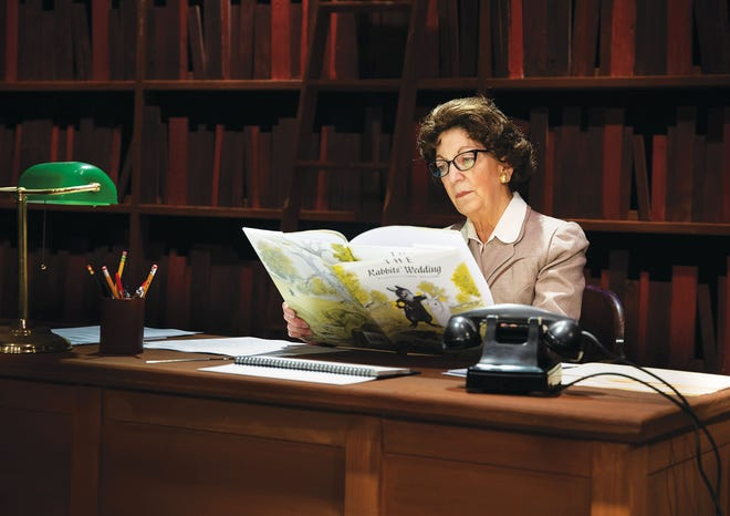 Karen Brunner plays Emily Wheelock Reed, the former state librarian of Alabama who was challenged by a state senator to remove a children's picture book from the shelves of the state's libraries in 1959.