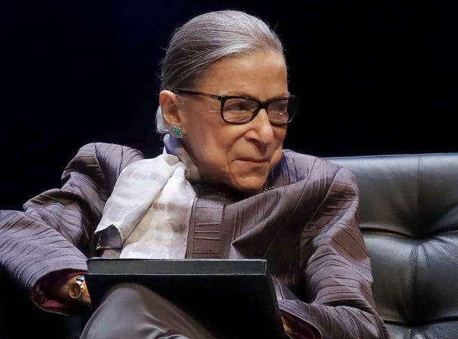 Ruth Bader Ginsburg died Friday at age 87.