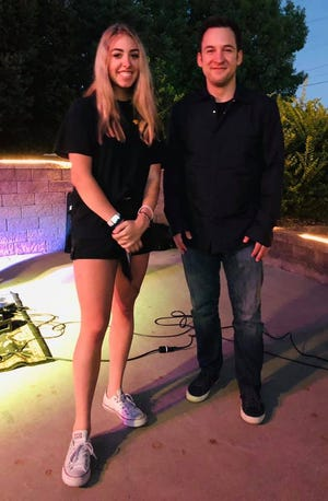 Television star Ben Savage visited Roca Bar North in Evansville Friday night, according to a Facebook post from the restaurant.