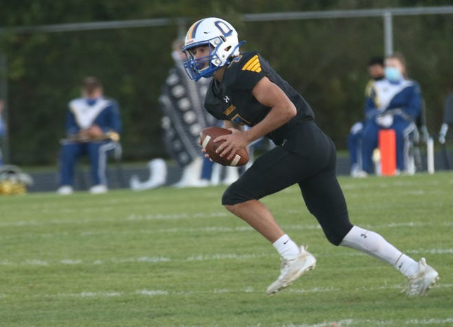 Ontario's Ethan Snyder is statistically the best quarterback in the MOAC this season.
