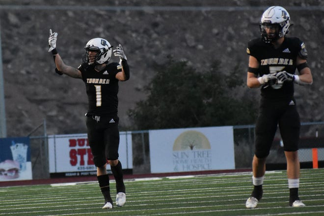 Desert Hills held off Snow Canyon on Friday, 35-33, to stay undefeated in Region 10 football.