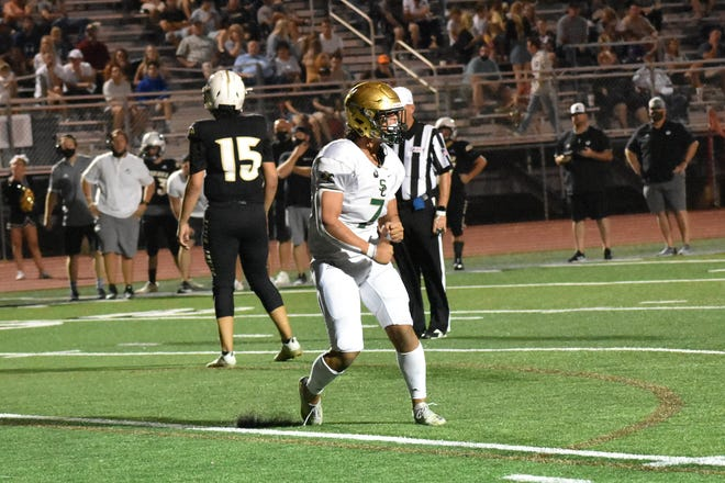 Snow Canyon held off Desert Hills for a 28-21 win Friday night.