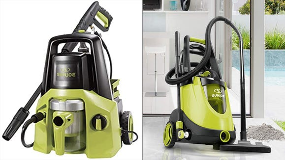 This pressure washer is ideal for a variety of outdoor cleaning tasks.