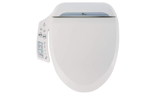 Forget shopping for toilet paper—grab this heated bidet toilet seat instead.