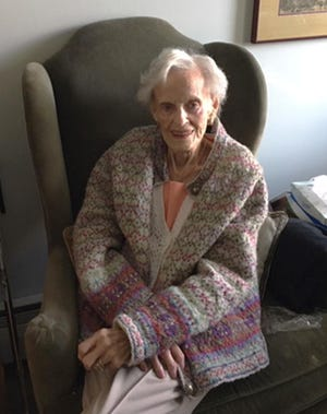 "A photo of Mildred Geraldine ""Gerri"" Schappals in December 2019."
