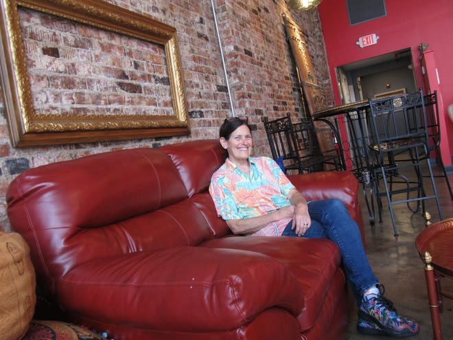 Owner Sharon Hurst wants Crossing 2nd to be different from traditional restaurants. Daisy Creager/Examiner-Enterprise