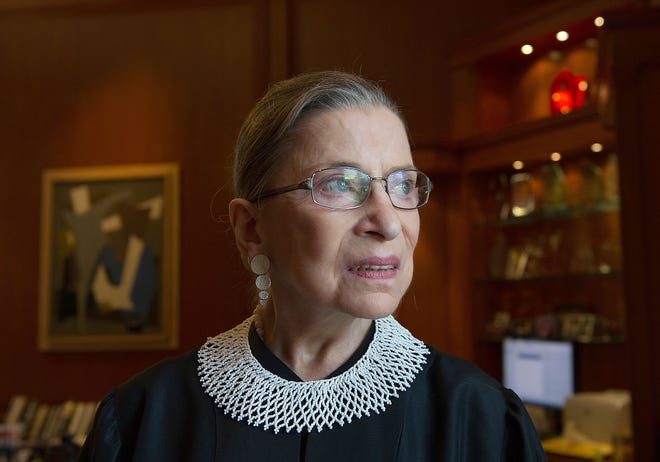 Supreme Court Justice Ruth Bader Ginsburg died Sept. 18 due to complications of metastatic pancreas cancer.