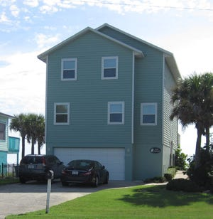 Built in 1988 and updated, this North Oceanshore Boulevard home in Flagler Beach has three bedrooms and three baths in 2,076 square feet of living space. It also has a bonus room, a deck, a private dune walkover, an outdoor shower, a patio and a fenced backyard, and it sold recently for $787,000.