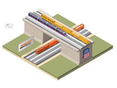 Concept for Stockton Diamond Grade Separation Project
