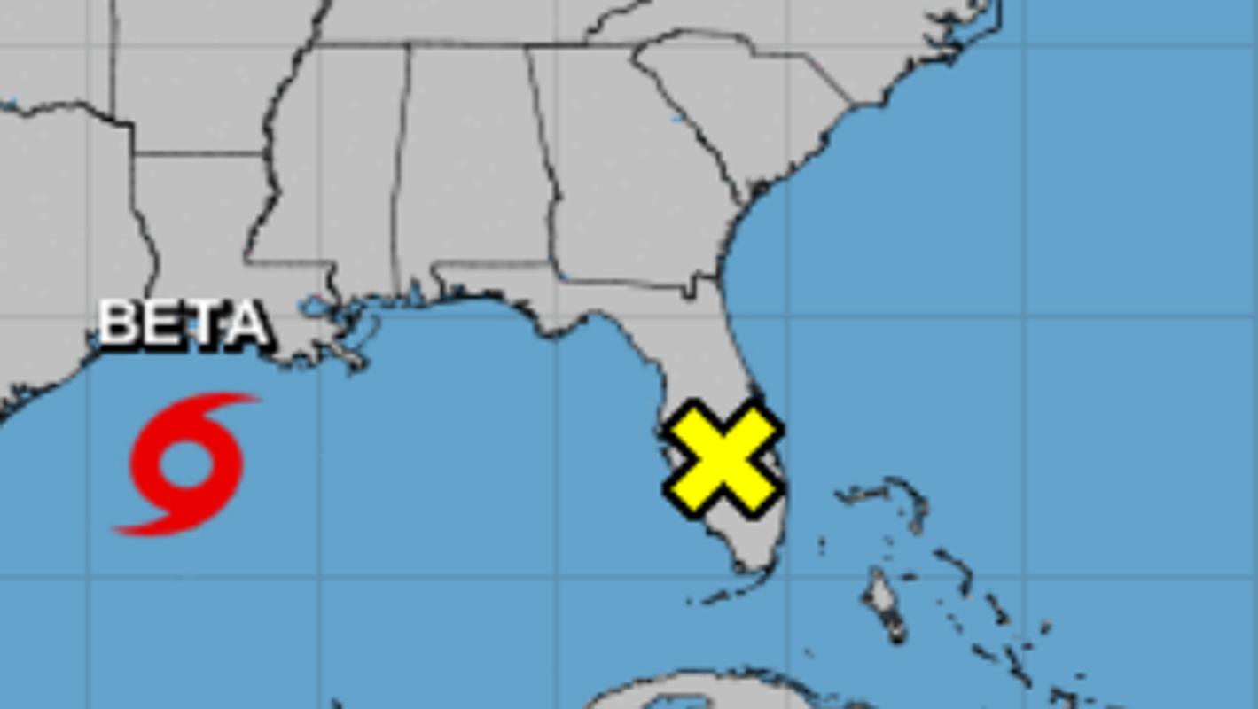 National Hurricane Center monitoring low-pressure system near Lake Okeechobee