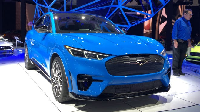 The debut of the Ford Mustang Mach-E electric SUV was a coup for the 2019 Los Angeles auto show in fall 2019.