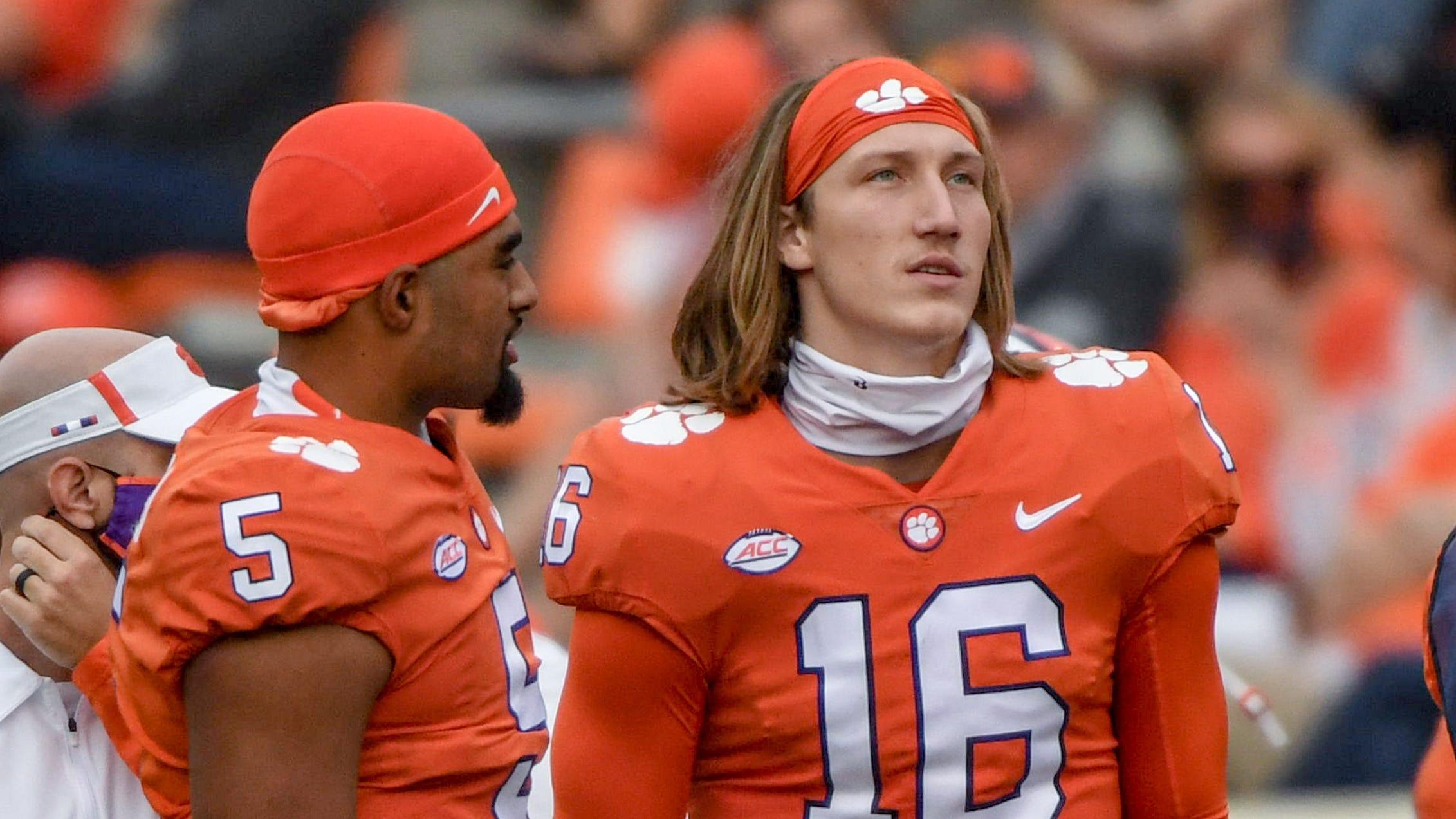 Clemson football has its eyes on Texas quarterback for 2022