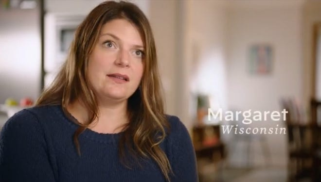 Margaret Pagoria of Wausau is featured in a new ad for Joe Biden's presidential campaign
