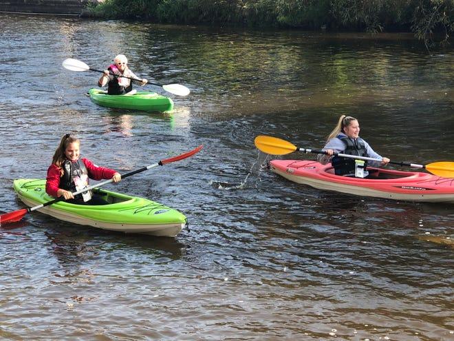 Downtown West Bend Kayak 5K drew about 50 participants Sunday