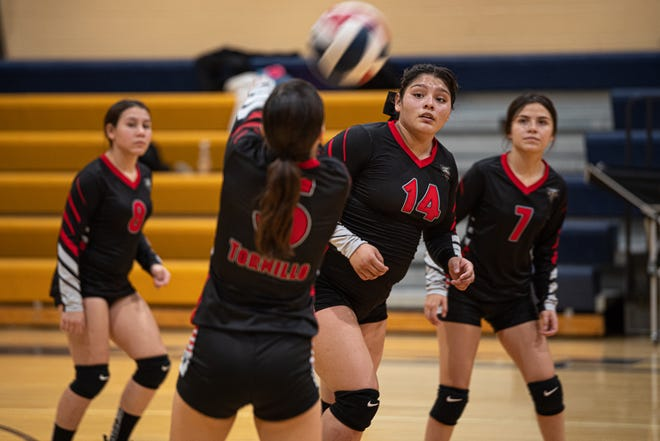 Tornillo lost to Fabens on the road in a 3-game match. Fabens improved to 2-0 on the season. Sept. 19, 2020.