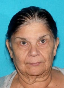 Authorities in Fillmore hope the public can help them find a missing woman considered at risk on Sept. 20, 2020.