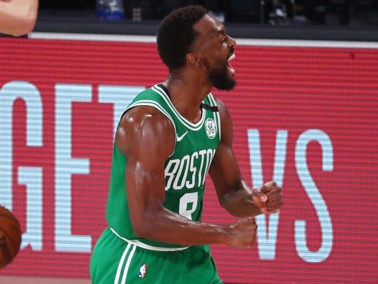 Kemba Walker scored 21 points for the Celtics.