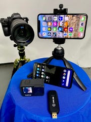 A Sony mirrorless, iPhone, Android or GoPro will give you better images than a webcam on a video meeting. Many connect their cameras to the meeting with the Camlink from Elgato