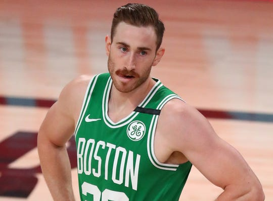 Gordon Hayward played 31 minutes in his return to the Celtics lineup.