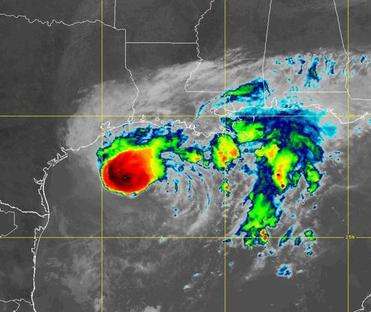 Landfall forecast for Texas as 2020 makes history, Republik City News