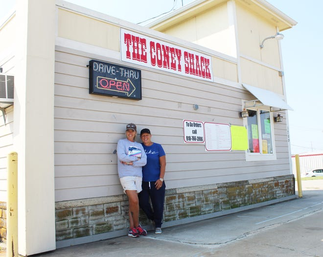 The Coney Shack owners Dee Anne Branson-Hill and Cheryl Hill have the only coney restaurant for miles around.