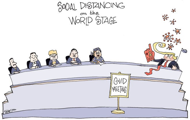 Editorial cartoon: Signe Wilkinson