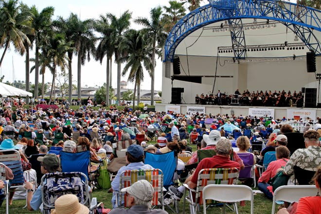 Opera @ The Waterfront celebrates its fifth year of bringing opera music to the masses this year at Meyer Amphitheatre in West Palm Beach. [PHOTO provided]
