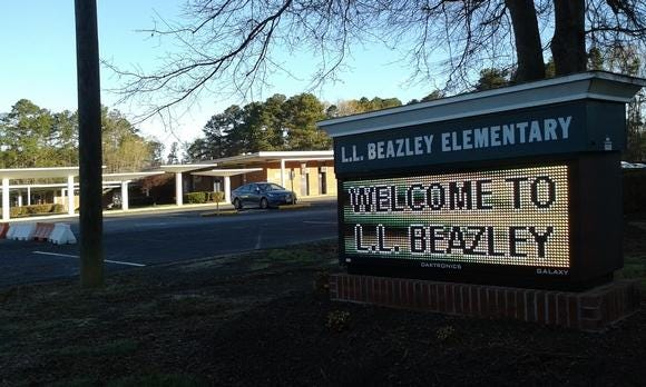 A COVID-19 case linked to Beazley Elementary was confirmed by Prince George County Public Schools on Monday.