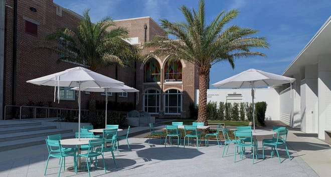 Bistro, a collaboration between Constellation Culinary Group and Sarasota Art Museum of Ringling College, will open Oct. 1, 2020, at the Museum's new home, the renovated historic Sarasota High School dating back to 1926.