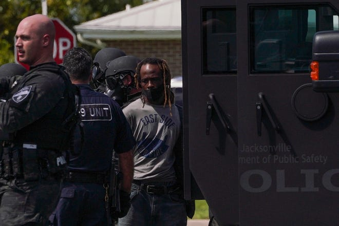 Wilmington police officers had several tense hours as a man barricaded himself in a home in the 2900 Block of Clayton Place in Wilmington Monday morning.