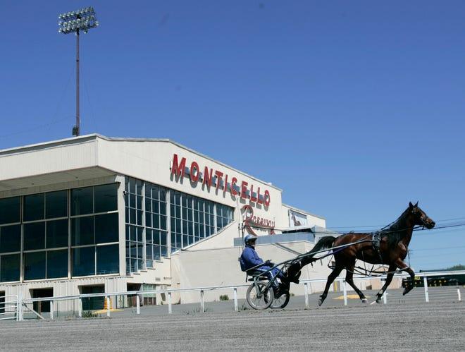 Monticello Raceway in Monticello, N.Y. MIKE GROLL/AP