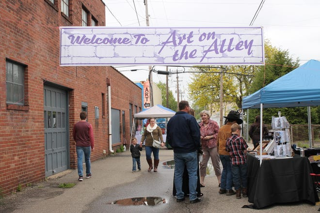 The annual Arts on the Alley will be held in October.