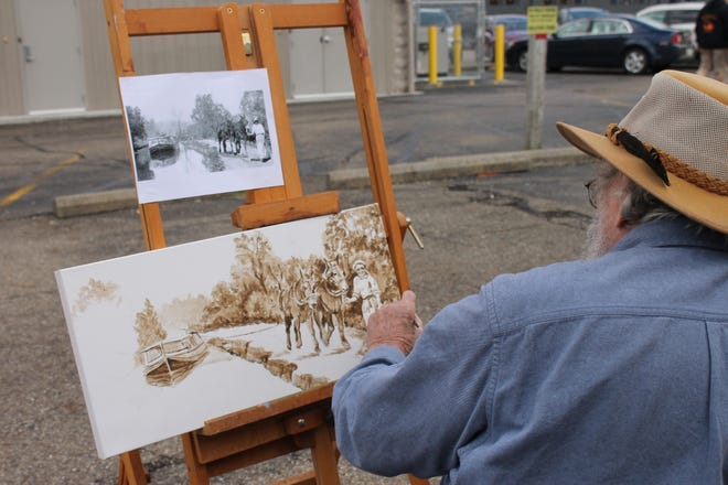 Local artists will have their work on display at Arts on the Alley.