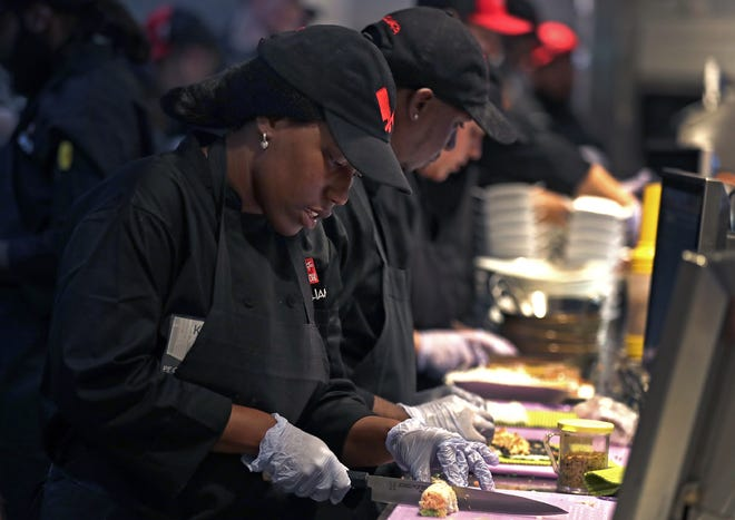 P.F. Chang's in Grand Chute had 147 employees when it opened in June 2019. Since the pandemic hit, it has furloughed half of its workforce.