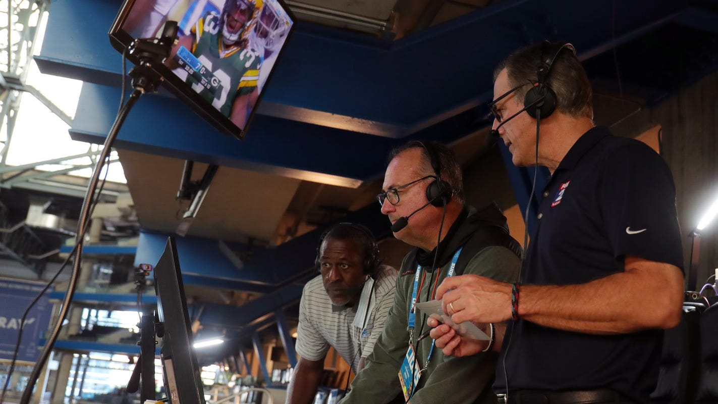 Lions radio team didn't attend game in Green Bay due to COVID-19. Here's how they called it