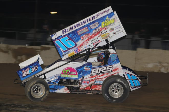 Finally, DJ Foos earns a victory Saturday at Fremont Speedway this season.