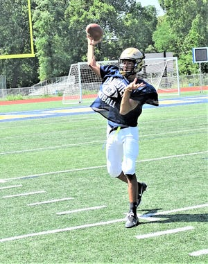 Lancaster senior quarterback Titan Johnson has completed 12 pass for 434 yards and four touchdown passes of 88, 83, 47 and 45 yards through the first four games.