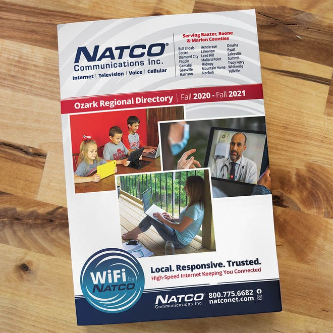 NATCO Communications, Inc. has announced the arrival of 2020-2021 Ozark Regional Directory.