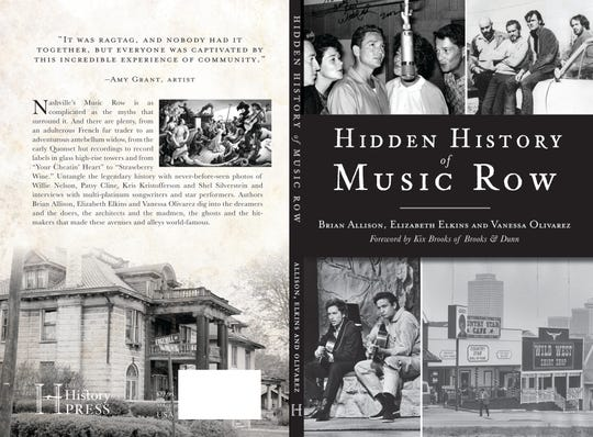 The cover of 'Hidden History of Music Row'