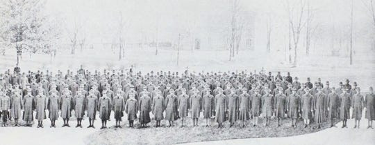 On Oct. 1, 1918, almost 500 students took an oath in the Vanderbilt chapel to enlist in the Student Army Training Corps.