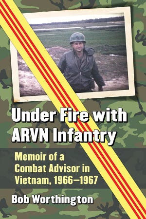 """Under Fire with ARVN Infantry,"" by Bob Worthington of Las Cruces won a Gold Medal for Excellence in Literature by the Military Writers Society of America. The award was presented on Sept. 19."