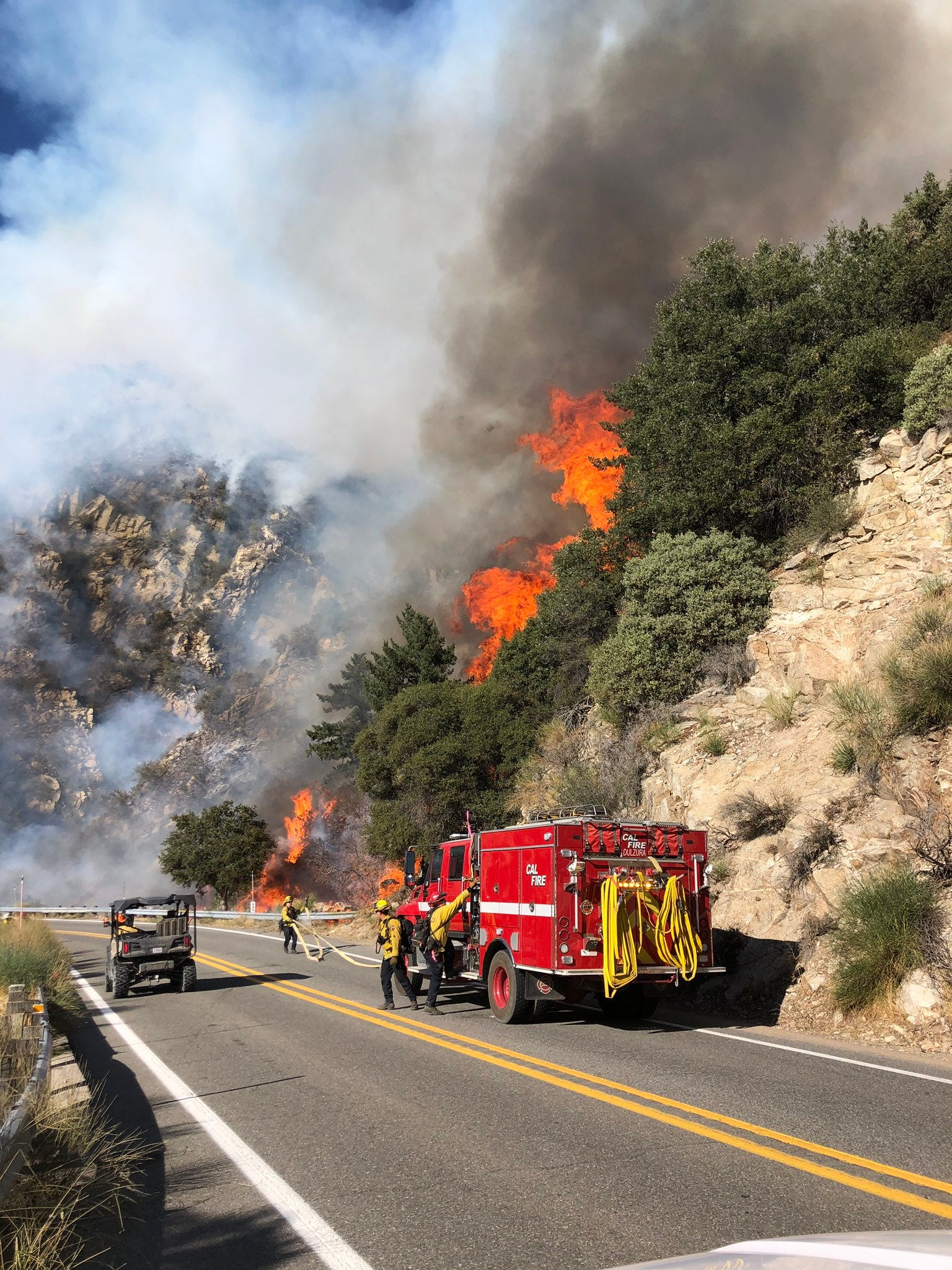 Couple charged with involuntary manslaughter in Southern California fire sparked by gender reveal