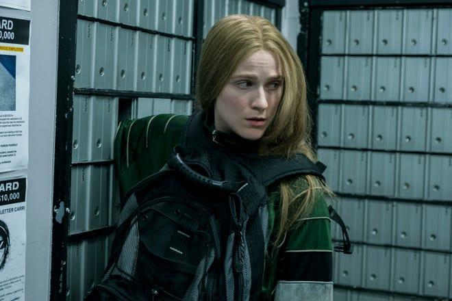 "Evan Rachel Wood stars as Old Dolio Dyne in Miranda July's ""Kajillionaire."""