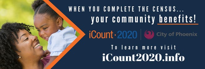 En Phoenix, un recuento exacto del Censo del 2020 representa $533 por persona, lo que totaliza una cantidad aproximada de $866 millones al año.