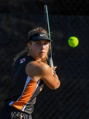 Central York's Rachel Haupt is seeded No. 1 in the Class 3-A field at the upcoming District 3 Girls' Tennis Singles Championships.