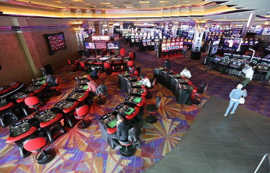 Empire City Casino in Yonkers reopened after it closed on September 21, 2020 due to the coronavirus shutdown.