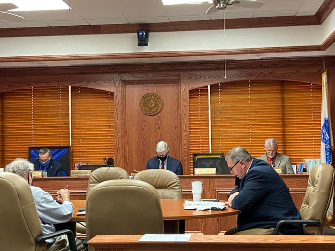 Wichita County Commissioners Monday approved a PACE program administrator and updated Covid-19 off time policy for county employees.