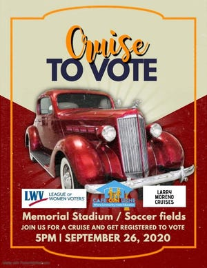 Cruise to Vote flyer