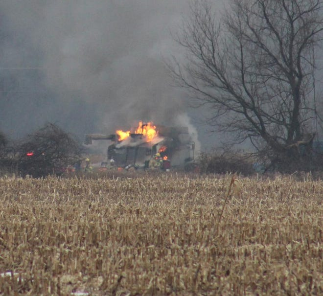 While fall fires can't be totally eliminated, a few precautionary steps can greatly reduce the likelihood that fire will ignite inside in your combine or the field you're harvesting.
